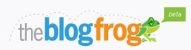 The Blog Frog logo